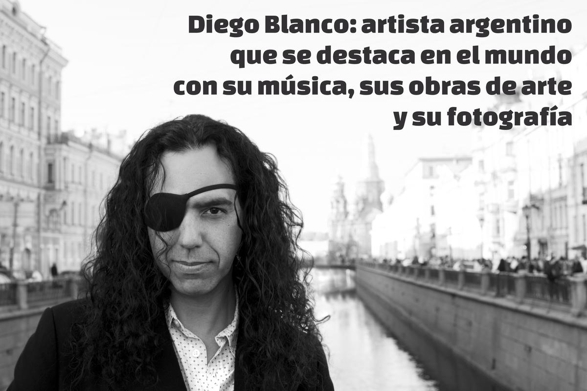 Diego Blanco, un artista argentino que conquistó europa con su arte / CULTURA