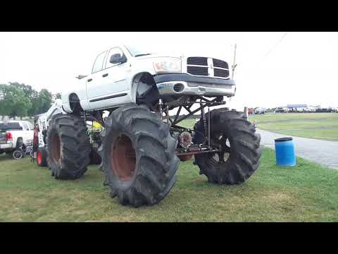 A Close Up Look At the Debut Of A Dodge Monster Truck At the 2020 Truck Nationals, Carlisle