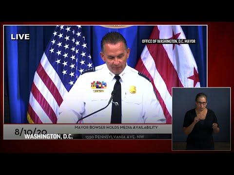 DC police probe shooting that left 1 dead, 20 hurt