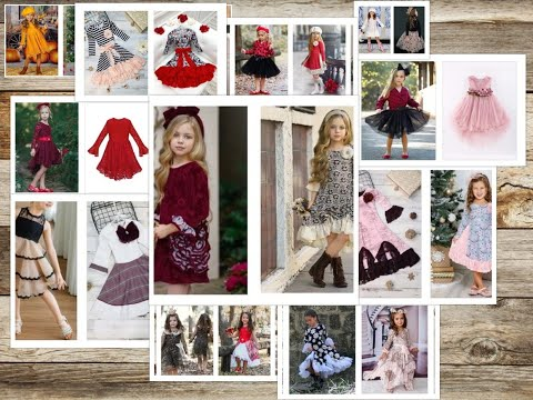 Girl's All Fall Dressy Dresses For Special Occasions
