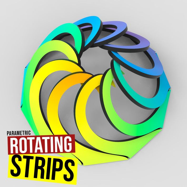 Rotating Strips