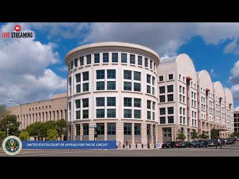 United States Court of Appeals for the DC Circuit Live Stream