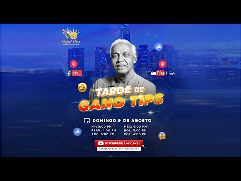 RAFAEL DIAZ / TARDE DE GANO TIPS (CUIDEMOS NUESTRA SALUD)