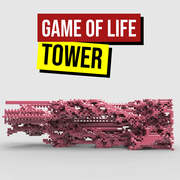 Game of life tower