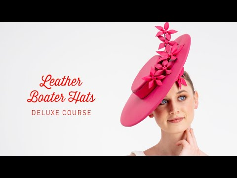 Leather Boater Hats Deluxe Course Preview