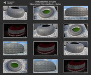 PARAMETRIC STUDY Education City stadium - Qatar - 05