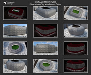 PARAMETRIC STUDY Education City stadium - Qatar - 04