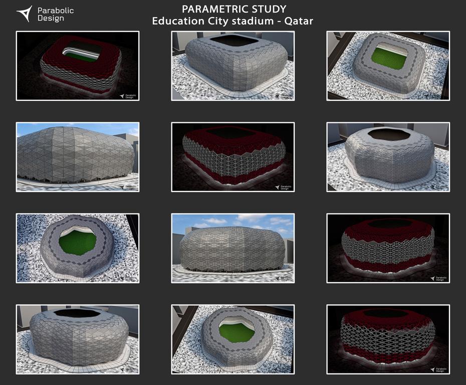 PARAMETRIC STUDY Education City stadium - Qatar - 04