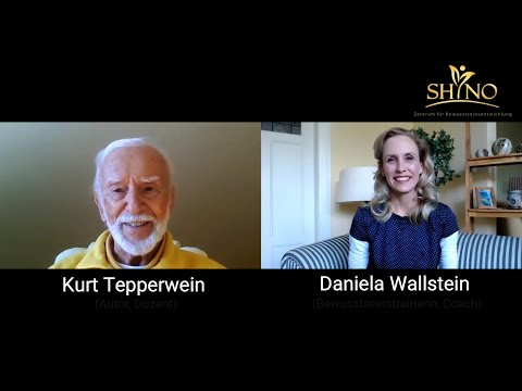 Interview Bewusstsein Kurt Tepperwein und Daniela Wallstein