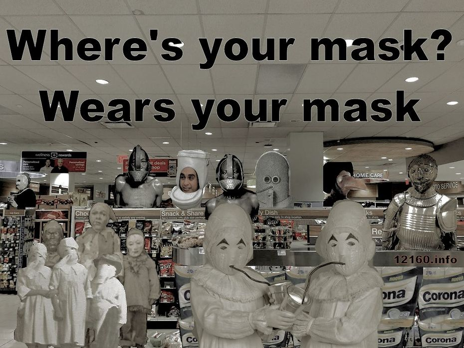 Where's your mask?
