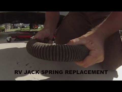 RV JACK SPRING REPLACEMENT