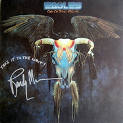 Eagles Randy Meisner Signed One Of These Nights Album