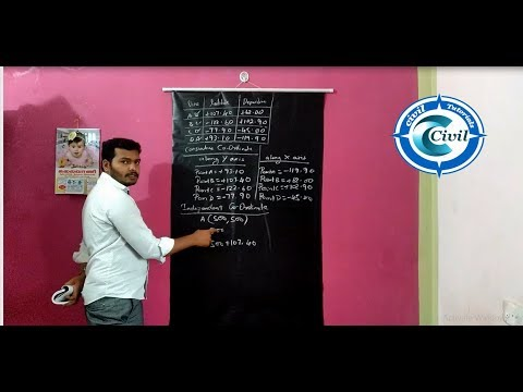 Surveying Tutorial   Area of Closed Traverse Problem by Civil Tutorials