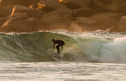 Sunday surf down south