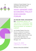 32nd Gender and Economic Policy Discussion Forum