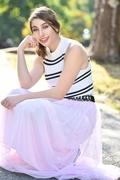 Brijony - pink skirt