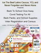 Back To School Covid Testing/Backpack Giveaway