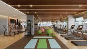 Gym Interior Rendering