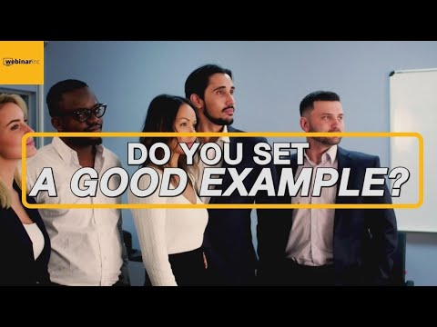 Do You Set A Good Example? - Daily Tips to Successfully Sell Cars at a Dealership