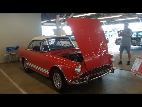 Classic Car Shopping With Pam At the 2020 Ford Nationals,Carlisle 1967 Sunbeam Tiger Series II