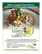 Tastes of the Valley, Harvest Tour