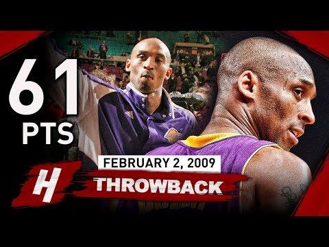 Kobe Bryant OLD MSG Record Highlights vs Knicks (2009.02.02) - 61 Points, MAMBA SHOW!