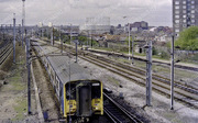 View North from Hornsey Station April 1989