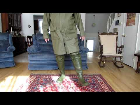 My Rain Gear Rain Parka and Hip Boots