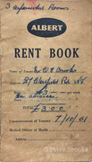 Rent book for 27 Westfield Road, Hornsey, 1961