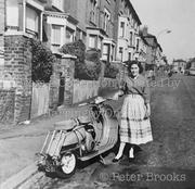 Haringey Road, Hornsey, looking east, c1960