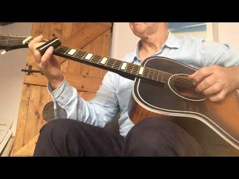 Blues Work in progress original slide guitar not cig