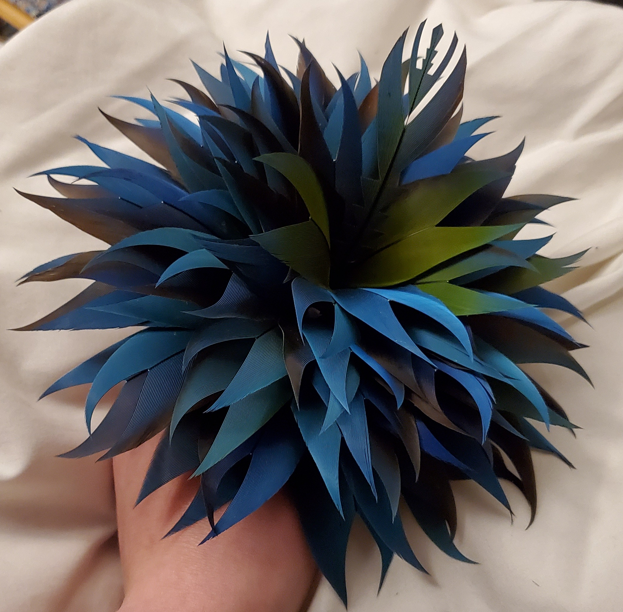 Feathers and Flowers