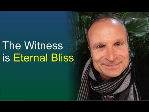 The Witness is Transcendental Bliss | Watching is Meditation (Witness Consciousness)