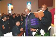 REV. DR. MARTHA ANDREE LEWIS IN HOLY ORDERS CEREMONY FOR ELDER PRAYED BY BISHOP HOLMES