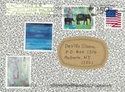 Mail art by Yayoi S.W. (Kirkland, Washington, USA)