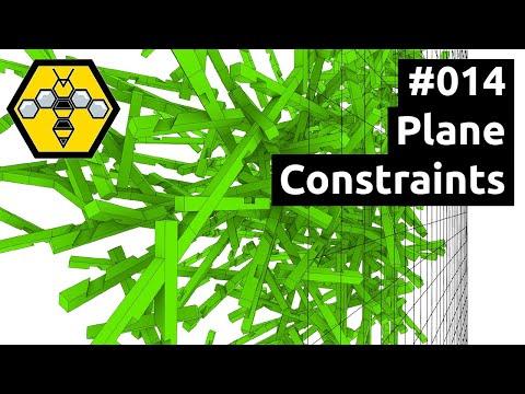Wasp for Grasshopper #101 - Tutorial #014: Plane Constraints
