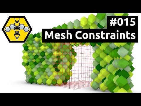 Wasp for Grasshopper #101 - Tutorial #015: Mesh Constraints