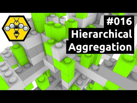 Wasp for Grasshopper #101 - Tutorial #016: Hierarchical Aggregation with Lego™ Bricks