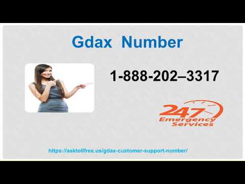 Gdax  Support Number 1 888 202 3317