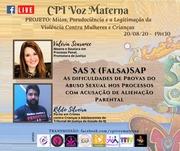 Valeria Scarance (Promotora de Justiça do Estado de SP) e Rildo Silveira (Perito em Crimes contra Crianças e Adolescentes do TJRJ)