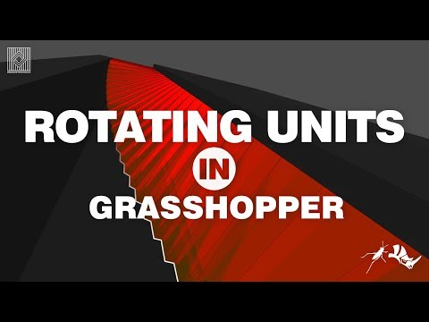 Rhino Grasshopper Tutorial (rotate)
