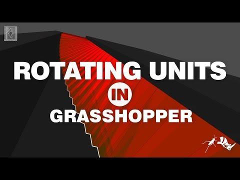 Rhino Grasshopper Tutorial (rotate)