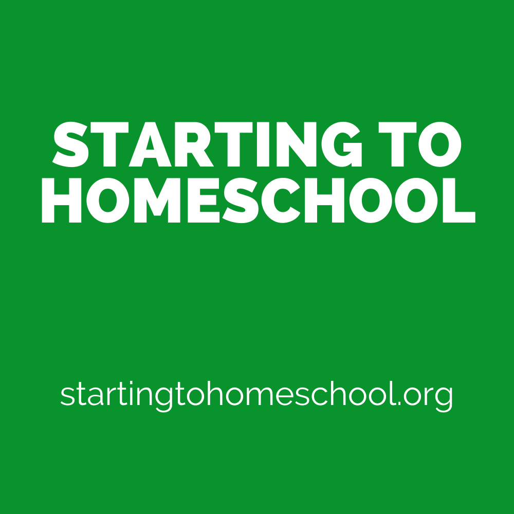 startingtohomeschool Logo