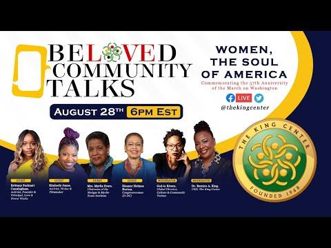 Beloved Community Talks - Women, The Soul of America