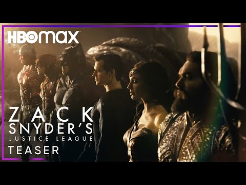 Zack Snyder's Justice League | Official Teaser | HBO Max