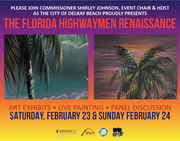 The Florida Highwaymen Renaissance Art Exhibit