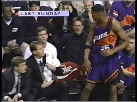 Robert Horry Hits Danny Ainge in the Face with a Towel, Gets Traded (1997)