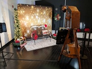Wedding Red Carpet Photo Booth Rentals / Open Air Backdrops Holiday