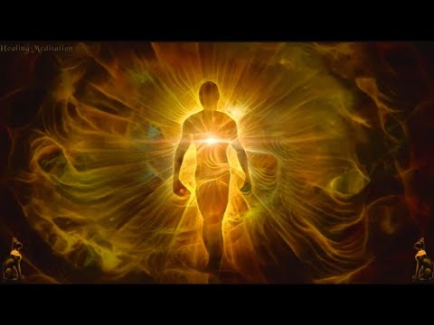 555Hz 50Hz 5Hz Golden Aura Healing Meditation Music. Positive change. Return to pure soul.