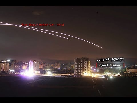 Israel Attacks Syria Again, Gaza Retaliates After Israel Attack & 5500 US-Backed Syrian Mercenaries